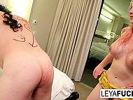 Uninhibited blonde wants her poor friend to suffer from anal pleasures 5