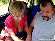 Mature guy pickups nice granny who knows how to make him feel unreal sensations 5