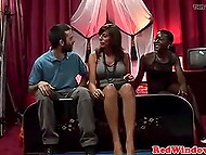 Tourist wants to fuck Ebony girl, so woman brings him to Amsterdam brothel for fulfilling this dream 4