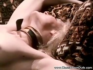 Cunnilingus is the main unit that lesbian women use to measure love in vintage video 4
