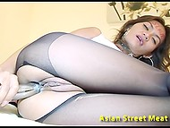 Long-legged Thai hooker serves to white master and fulfills all his naughty desires 8
