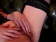 Real goddess is in a mood to feel unbelievable orgasm by fingering own pussy 8