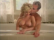 Sex scene with participation of Italian beauty Cinzia Roccaforte from 'The Hyena' movie