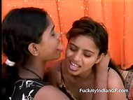 Forbidden lesbian sex is the greatest pastime for lascivious teen Indian girlfriends 4