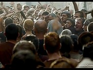 Lena Headey as Cersei Lannister gets her hair cut and takes walk of shame through indignant crowd 11