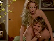 Vintage video featuring German porn actress Gina Janssen and two splendid chicks