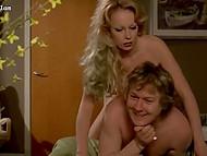 Винтажное видео с участием немецкой порно актрисы Gina Janssen и ещё двумя цыпочками