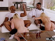 Black lovelaces came together because they had known that there were two hungry pussies 6
