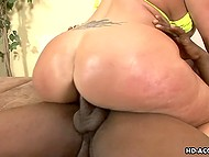 Delightful woman of ample proportions is the best gift for black lovelace and his solid penis 10