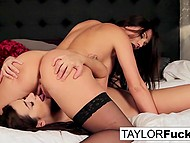 Girl loves Taylor Vixen's big boobs and delicious trimmed pussy more than anything in the world 10