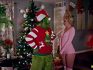 Grinch wants to steal Christmas again and nice family stops him and invites to group sex 8