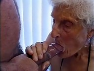 This very old woman's secret of longevity depends on active every day fucking 6