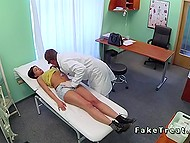 Medical investigation of Serbian patient ends with active fucking because of perverted doctor 5