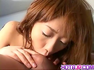 Teen Japanese girl's dreams about squirting orgasm come true during MMF threesome