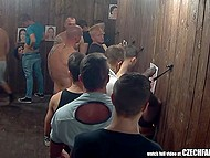 Men often come to cheap strange Czech brothel to have great time with teen wily sluts 9
