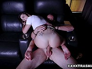 Sexy stepsister comes to visit brave stepbrother because she is missing his cock for a long time 7