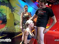 There were enough guys to satisfy greedy for cum German MILF with massive boobs 4
