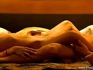 Чувственный секс субтильной индийской красавицы и её белого кавалера в HD порно видео 5