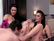 Compilation of femdom videos featuring imperious Arab girls forcing sheiks to grovel at their feet 7