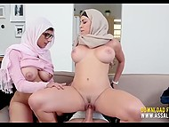 Curvy Arab stepmom wants to be sure about male power of her stepdaughter's new boyfriend 6