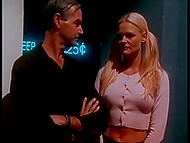 Danish pornstar Katja Kean entered private zone and turned to satisfy man who was waiting for her 3