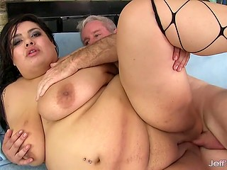Jeffs Models presents fat beauty with giant body who can show how to fuck