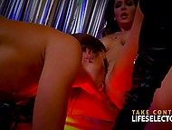 Life Selector presents flawless Abigail Mac and Jessica Night in amazing lesbian show 6