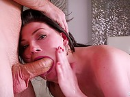 Only Teen Blowjobs presents irresistible Jessica Rex in hot scene with aroused dick 6