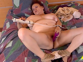 Video compilation of mature Latina women who are ready to demonstrate sex show with pussies