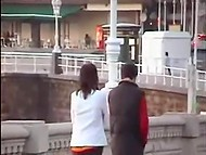 Compilation of videos by voyeurs spying on couples teasing and fucking in public places 3