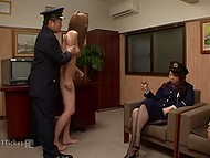 Policemen scared Japanese suspect with a video and interrogated her with all severity 5