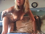 Old woman learns to use camera and records her very first solo masturbation video 10