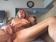 Old woman learns to use camera and records her very first solo masturbation video 7