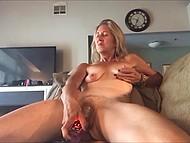 Едва старая особа научилась пользоваться камерой, как тут же принялась снимать клипы интимного характера 8
