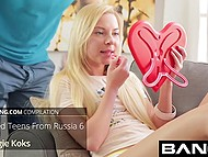 Porno video compilation of Russian girls that aren't averse getting fucked by skilled dudes 9