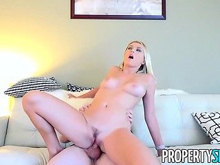 Real estate agent gives enough reasons to Polish blonde Natalia Starr for renting this apartment