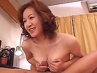 Obedient boy behaved himself well and deserved to fuck Japanese stepmother