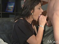 Young dude never tells someone about his private meetings with fiery Czech stepmom 9