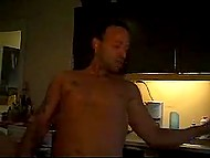 Compilation of amateur videos with the same Danish blonde getting analyzed by tempter 7