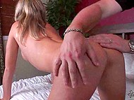 Cameraguy was busy with recording and just shoved dildo in oiled pussy of Polish girl 4