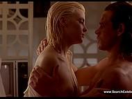 Эротические сцены из ретро фильма 'Слияние двух лун' с обворожительной Sherilyn Fenn 6