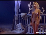 Obscene sex clips from retro movie 'Two Moon Junction' with fascinating Sherilyn Fenn
