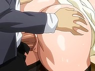 Uncensored hentai cartoon excites with views of well-shaped girls getting fucked well 8