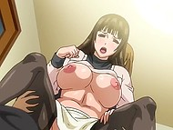 Exciting hentai cartoon uncensored involving hot Tanok with fantastic forms
