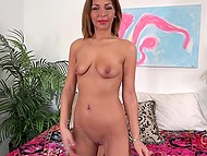 Good-tempered honey with attractive body and smooth pussy told how to make her squirt quickly 9