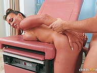 Helpful doctor Aubrey Black make sure patient's cock gets treatment it truly deserves 8
