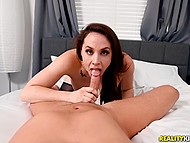 Car keys are lost so now sexy MILF has to suck and fuck pickup artist if she wants to get home 10