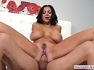 Every single opening of succulent MILF is expanded and wet enough to welcome cock inside