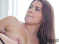 Italian Valentina Nappi with juicy shapes has no doubt when such a big black weapon is within reach 8