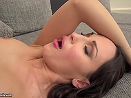 Sensual MILF always wears butt plug to be able to get cock inside ass in any situation 10